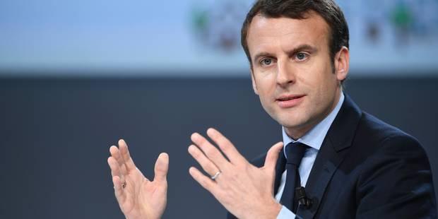 """Sondage """"Dedicated"""": Emmanuel Macron président de la République - La DH"""