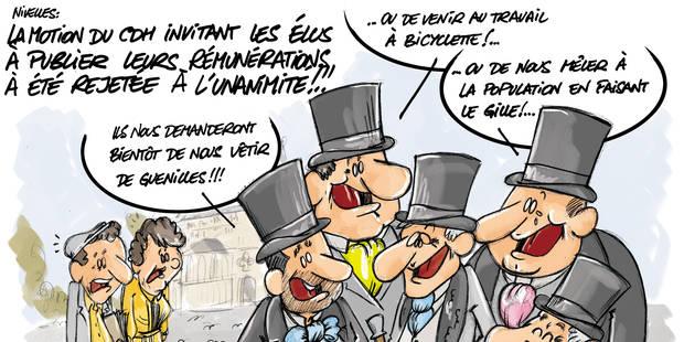 """Nivelles: La """"transparence"""" du CDH? """"Un effet de com!"""" - La DH"""
