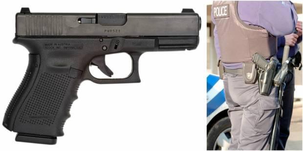 Bruxelles: un policier perd son arme... en faisant pipi! - La DH