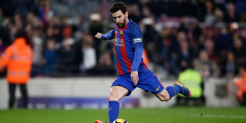 """Lionel Messi est """"heureux à Barcelone"""" selon son sélectionneur"""