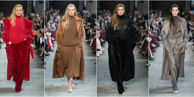 A Milan, on aime toujours autant le confort glamour de Max Mara - La DH