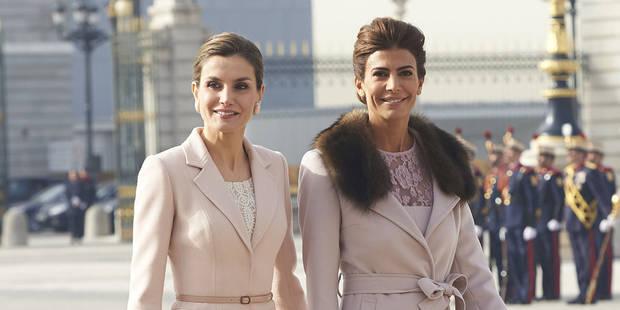 Letizia d'Espagne et la Première Dame d'Argentine, parfaitement raccord - La DH