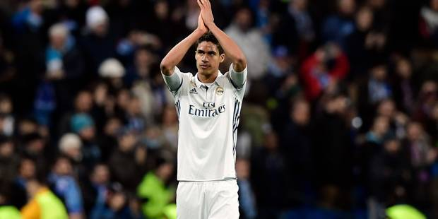 Real Madrid: déchirure à la jambe gauche pour Varane - La DH