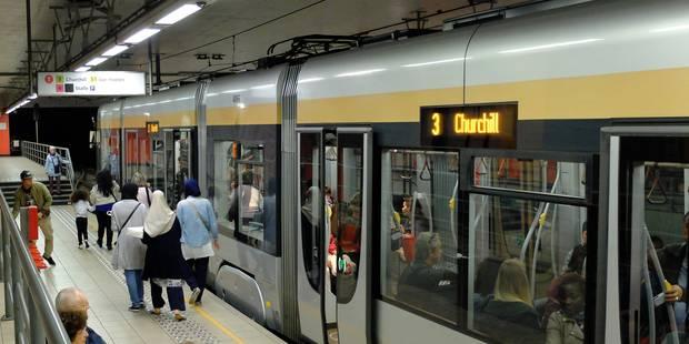 Déraillement d'un tram à Bruxelles : circulation interrompue entre Gare du Midi et Albert - La DH