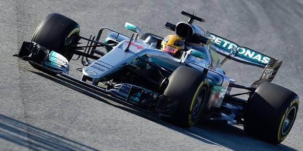 Essais Formule 1: Hamilton finalement le plus rapide, juste devant Vettel - La DH
