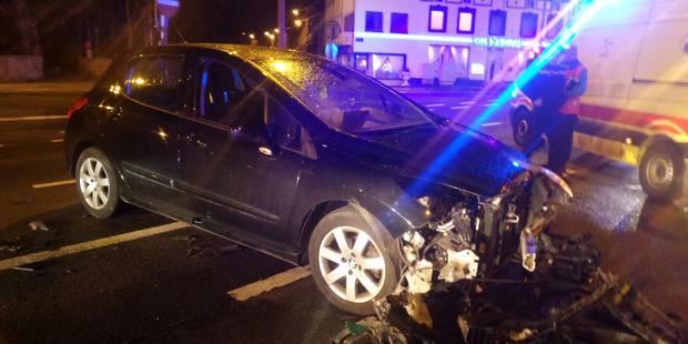 Deux blessés lors d'une collision à Couillet - La DH
