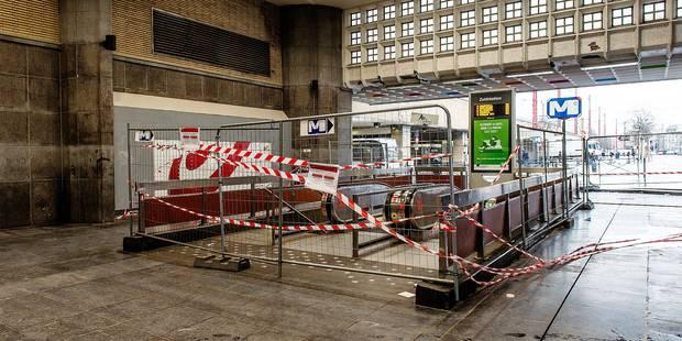 Bruxelles: La gare du Midi tombe en morceaux - La DH