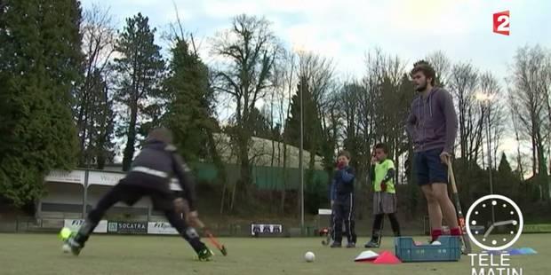 """France 2 vante le """"vrai engouement"""" autour du hockey en Belgique - La DH"""