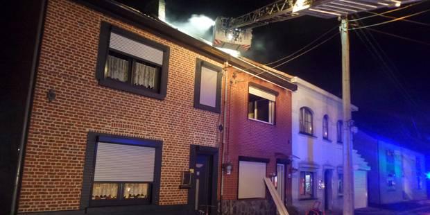 Wanfercée-Baulet: Une maison ravagée par un incendie - La DH