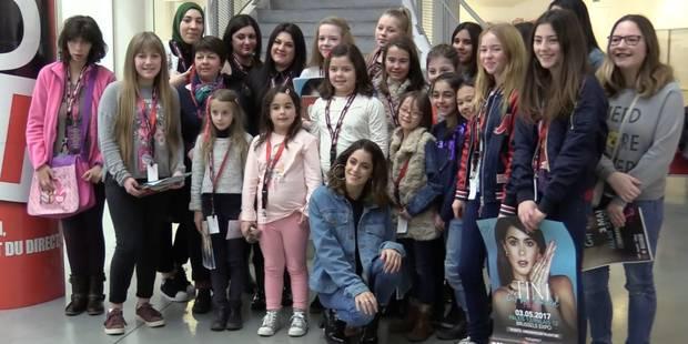 Martina Stoessel, alias Tini était à la DH ce mercredi pour rencontrer ses fans (VIDEO) - La DH