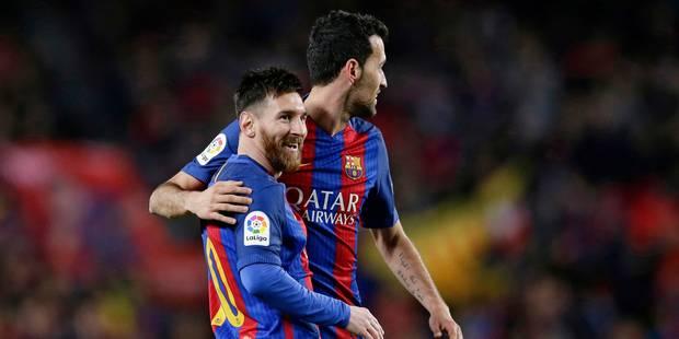 """Liga: le trio """"MSN"""" se déchaîne, le Barça en tête - La DH"""