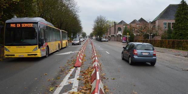 Tournai : Trois semaines de chantier au boulevard des Nerviens - La DH