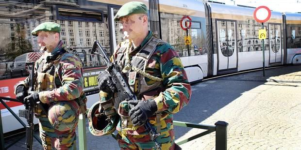 Les militaires pourraient rester en rue jusqu'en 2019 - La DH