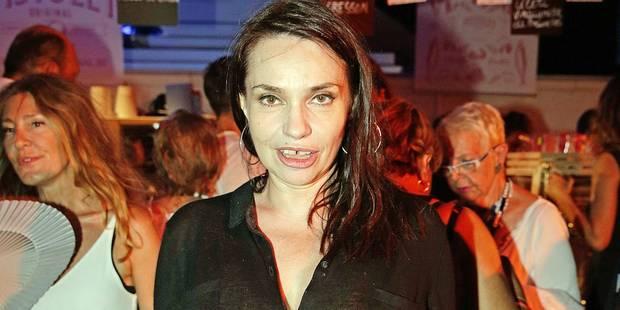 Béatrice Dalle en tournage en Belgique - La DH