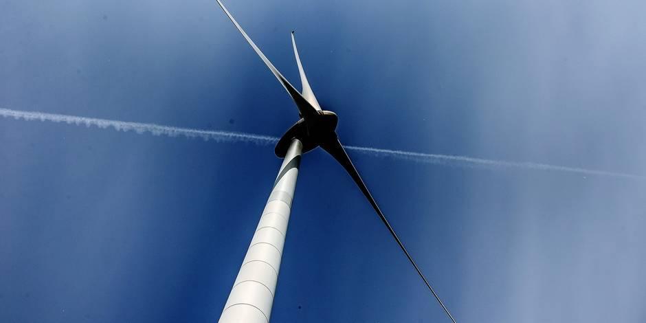 Inauguration du plus grand parc éolien de Belgique