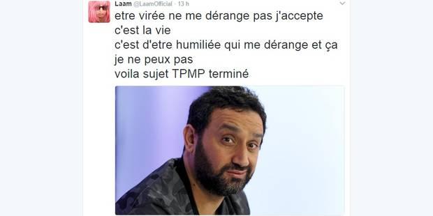 """Lââm se sent """"humiliée"""" par Hanouna et le clashe sur Twitter - La DH"""