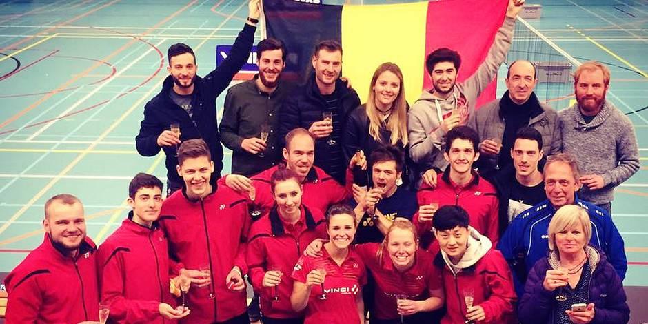 Badminton: Bad79 est champion de Belgique