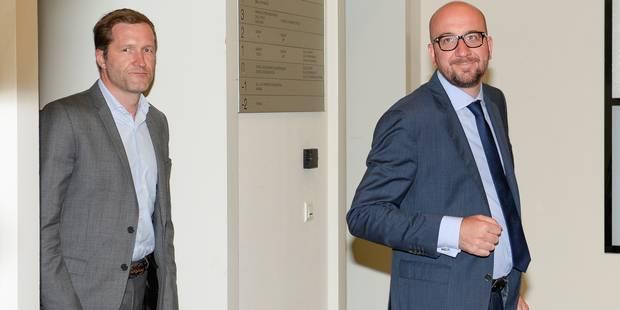 Charles Michel attaque sévèrement Paul Magnette en le comparant à Marine Le Pen - La DH