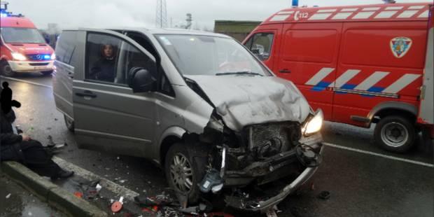 Marchienne-au-Pont: six blessés lors d'une collision entre deux véhicules (PHOTOS) - La DH