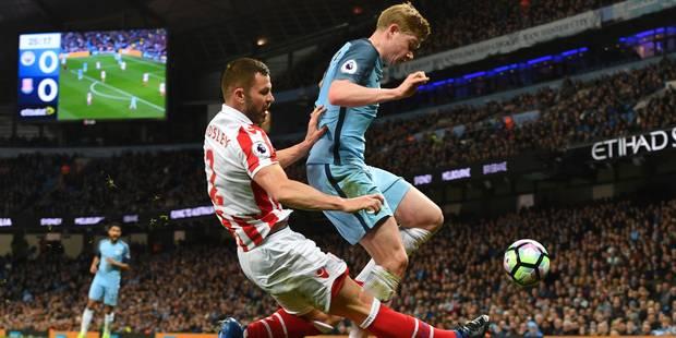 Belges à l'étranger: Manchester City et Kevin De Bruyne piétinent face à Stoke City - La DH
