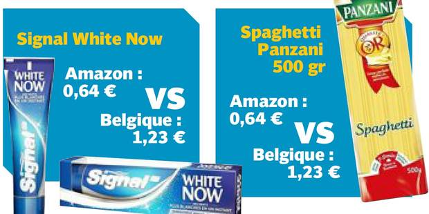 Amazon: votre nouveau supermarché moitié moins cher - La DH