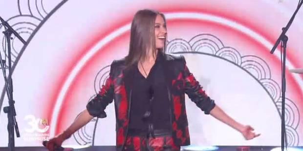 """Ophélie Meunier fait le show sur """"I love Rock 'n'roll"""" avec... Philippe Etchebest à la batterie - La DH"""