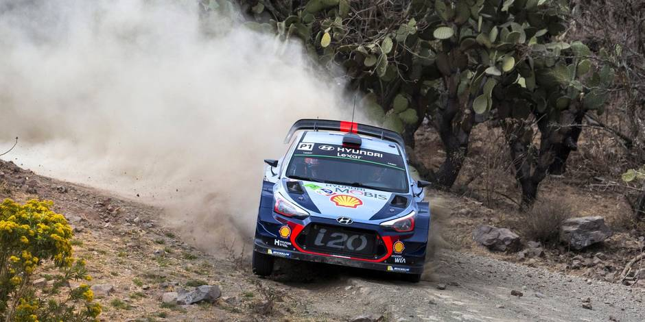WRC - Mexique : la victoire pour Kris Meeke malgré une ultime frayeur