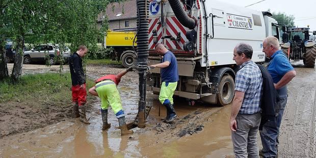 Chastre : trois pistes pour lutter contre les inondations - La DH