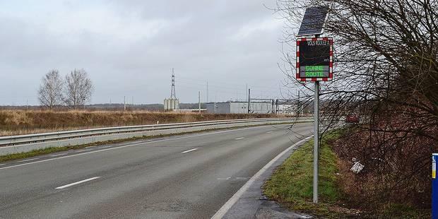 Google et la commune de Saint-Ghislain s'allient pour lutter contre la vitesse - La DH