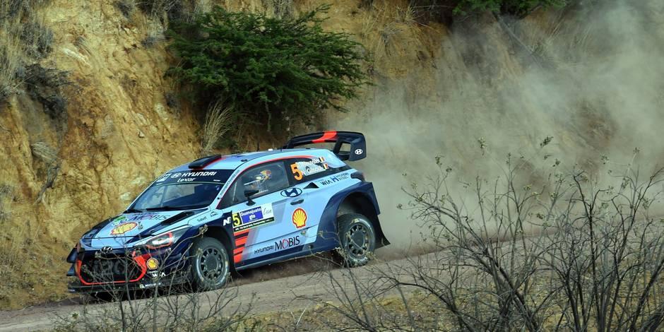 Rallye du Mexique : Meeke prend la tête devant Ogier, Neuville troisième