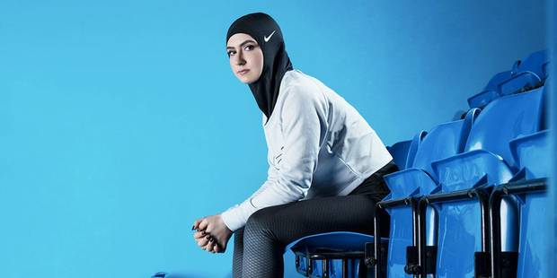 """Voici à quoi ressemble le """"voile sportif"""" que Nike lancera en 2018 (PHOTOS) - La DH"""