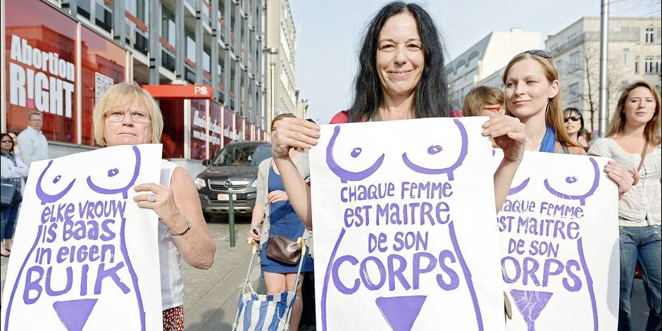 Action for free abortion in Europe