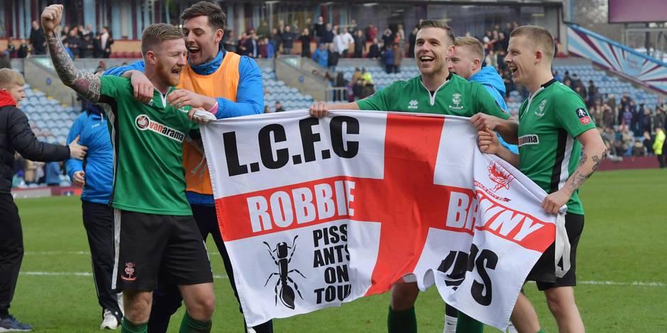 Jour d'investiture pour Lincoln City qui va affronter Arsenal en FA Cup