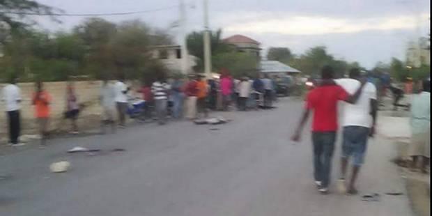 Un autobus fonce dans une foule en Haïti: 38 morts et 13 blessés - La DH