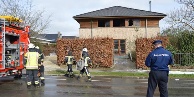 Incendie d'une villa à Mouscron - La DH