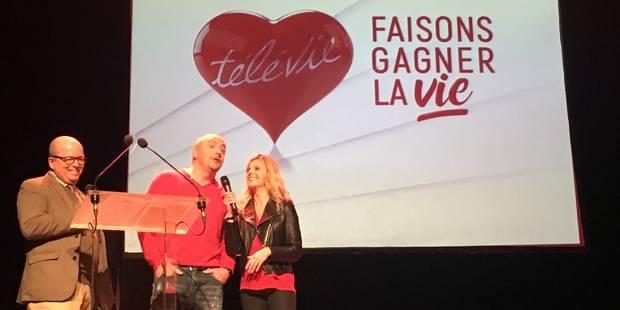 Jean-Louis Lahaye et Caroline Fontenoy dansent pour le Télévie - La DH