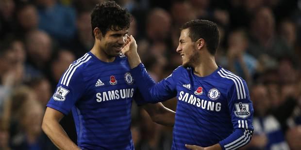 Diego Costa évoque les départs éventuels d'Hazard et de Courtois au Real Madrid - La DH