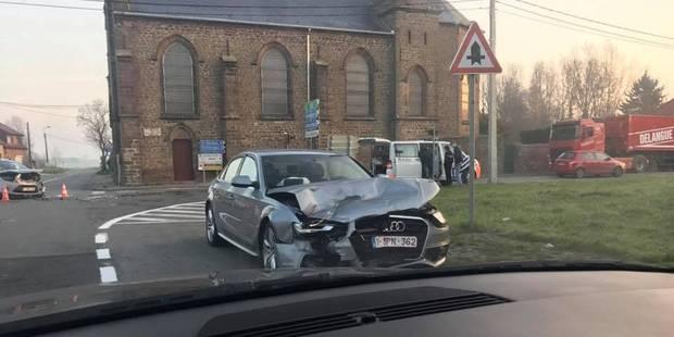 Violente embardée à Ellignies-Sainte-Anne ce jeudi matin - La DH