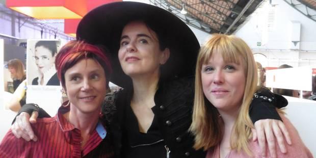 Les bibliothècaires de Pecq sont parvenues à attirer Amélie Nothomb - La DH