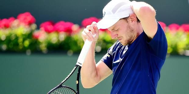 """Goffin revient sur son élimination précoce à Indian Wells: """"Je n'ai pas de regret"""" - La DH"""