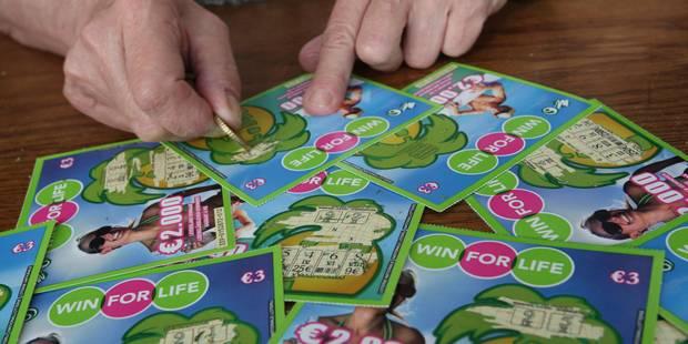 La Loterie nationale lance un nouveau Win For Life - La DH