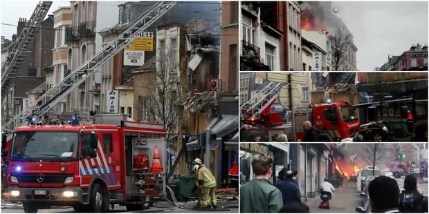 """""""Enorme"""" explosion à Saint-Gilles: le corps d'un homme retrouvé dans les décombres (PHOTOS + VIDEOS) - La DH"""