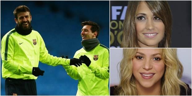 Piqué risque de manquer le mariage de Messi à cause d'une affaire de femmes - La DH