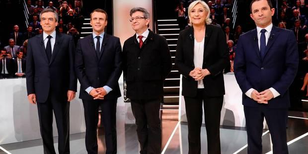 Présidentielle française: Suivez en direct notre couverture du débat entre les 5 favoris - La DH