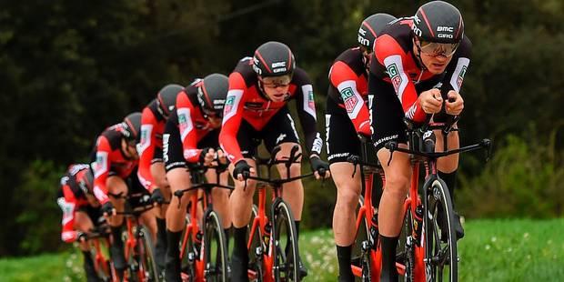 Tour de Catalogne: BMC finalement vainqueur de la 2e étape, Ben Hermans nouveau leader - La DH