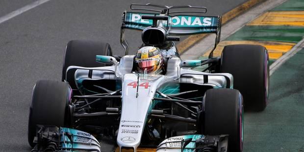 Hamilton et Mercedes en pole mais Ferrari et Vettel ne sont pas loin !