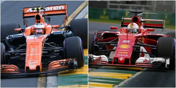 GP d'Australie: Victoire de Vettel (Ferrari), Vandoorne 13ème