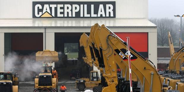Caterpillar Belgium prête à vendre son site de Gosselies à la Région wallonne pour 1 euro - La DH