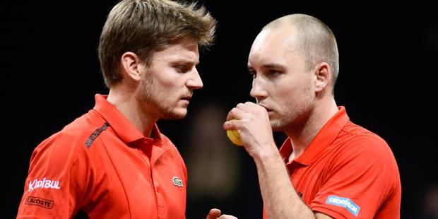 Coupe Davis: voici la sélection belge pour affronter l'Italie en quarts de finale