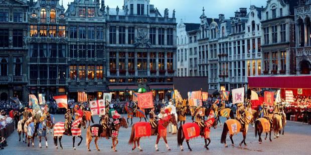 La Région bruxelloise soutient la candidature de l'Ommegang au patrimoine de l'Unesco - La DH